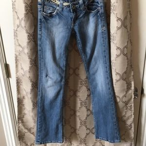 Miss Me jeans distressed size 26 inseam 31